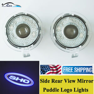 Ghost Shadow Led Side Rear View Mirror Puddle Logo Light For Ford Taurus 2010 18