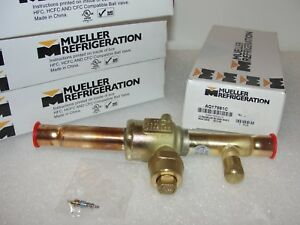 Mueller Refrigeration Aq17861c Ball Valve Assembly Lot Of 4 New
