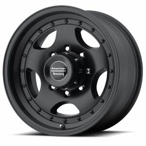 4 New 15x10 44 American Racing Ar23 Satin Black Clearcoat 5x114 3 Wheels Rims