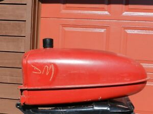 Antique International Ih Farmall M Or Super M Tractor Gas Tank Smta Nice Shape