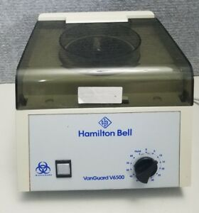Hamilton Bell Vanguard V6500 Compact 6 Place Unit Clinical Centrifuge
