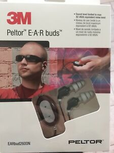 3m Peltor E a r Buds Noise Isolating Headphones 2600n