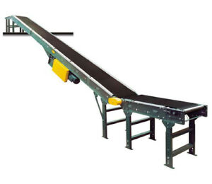Hytrol Powered Incline decline Roller Belt Conveyor Sbi Series 32 4 X 18 Belt
