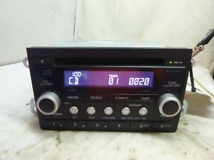 07 08 09 10 11 Honda Element Radio Cd Player W Code 39101 Scv A320 Gxx25