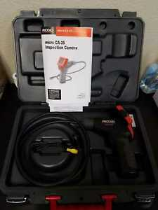 Ridgid 40043 Micro Ca 25 Handheld Inspection Camera Kit Case Not Included