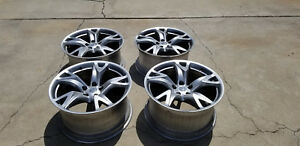 Nissan 370z Set Of 4 19 Rays Engineering Forged Factory Oem Wheels