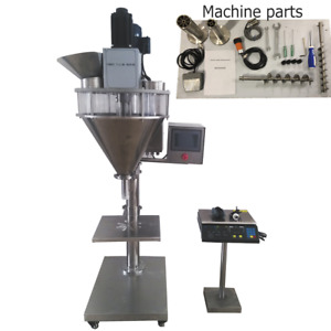 Powder Weight Filling Machine Coffee Flour Milk Powdered Filler 5 5000g Us Stock