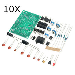 10pcs Icl8038 Function Signal Generator Kit Multi channel Waveform Generated Ele