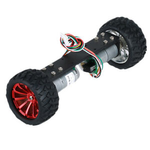 Diy Jga25 360 12v 1 25w Two Wheel Self Balancing Smart Robot Car Metal Frame Cha