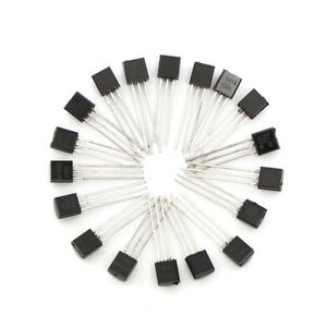1800pcs 18 Values Triode Transistor To 92 Assortment Kit
