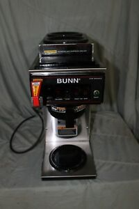 Bunn Cwtf15 Automatic Brewer With 3 Warmers Just Serviced
