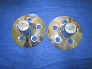 Cragar Ford Dodge Mustang 5 X 4 2 Bolt Pattern Vintage Center Caps