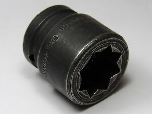 Mint Snap on 3 4 Drive Im630 15 16 Sae Shallow Double Square Impact Socket