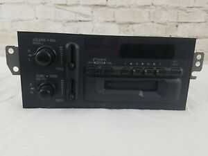 Delco Electronics Stereo Am fm Cassette 16179971 Oem From 84 Chevy Corvette