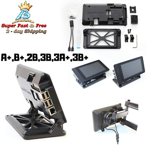Adjustable Angle Case For The Official Raspberry Pi 7 Touchscreen Display New