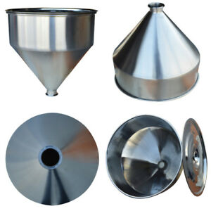 64mm Paste Filling Machine Hopper 304 Stainless Steel Store Container