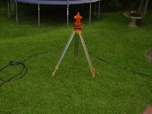 Nice Topcon Ag 30b Surveying Instrument With Case And Aluminum Tripod P u Only