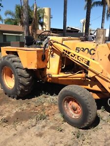 Used Case 580c Tractor With Front Loader all New Parts