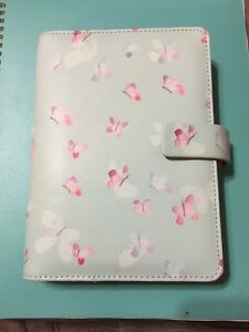 Filofax Personal Size Butterfly Organizer Planner Notebook Diary Extras