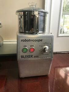 Robot Coupe Blixer Bx4v Professional Food Processor Use
