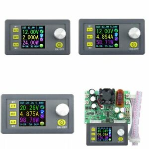 Constant Voltage Current Programmable Digital Power Converter Lcd Voltmeter Avw
