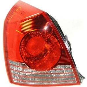 For 2004 2005 2006 Hyundai Elantra Lh Left Driver Side Tail Lamp Taillight Sedan