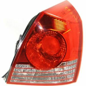 For 2004 2005 2006 Hyundai Elantra Rh Right Passenger Tail Lamp Taillight Sedan