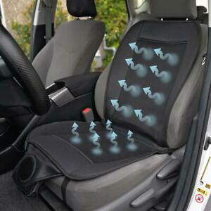 Fan Car Seat Cushion W Strong Intake To Keep Bottom And Back Cool On Commute
