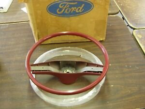 Nos 1974 1979 Ford Torino Ltd Granada Mustang Ii Cougar Steering Wheel 1975 1976