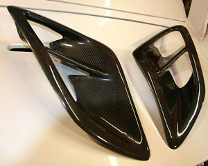 Porsche 997 Turbo Side Air Intake Scoops In Carbon Fiber Fits 2005 To 2012