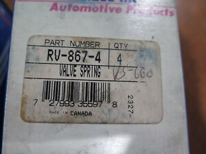 Engine Valve Springs Pioneer Inc Rv 886 4 Box Of 4 Nos 12 d1 4