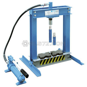 Hydraulic Bench Shop Press Workshop Garage Heavy Duty 4 Ton Fervi P001 04