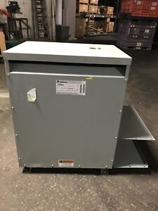 General Electric Ge Transformer 112 5 Kva Pri 480v Sec 208y 120 3 Ph 9t23b3875