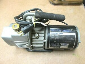 Ritchie Yellow Jacket Superevac 2 stage Vacuum Pump Pn 93560 Whs 3 06
