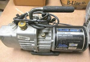 Ritchie Yellow Jacket Superevac 2 stage Vacuum Pump Pn 93580 Whs 3 07