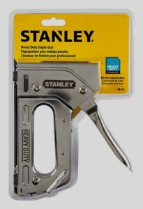 Stanley Heavy Duty Staple Gun Stapler Steel Tr110 Uses Staples Tra700 T50 New