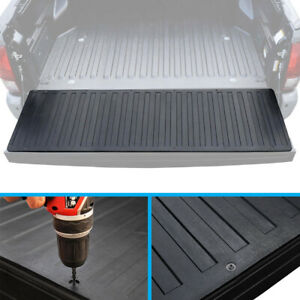 Pickup Truck Bed Tailgate Mat Rubber Liner For 07 17 Chevy Silverado Gmc Sierra