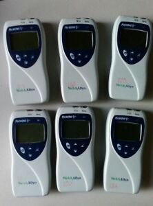 6 Welch Allyn Micropaq 404 Wearable Monitors
