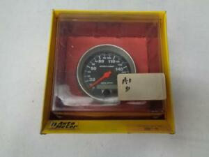 1 New Autometer Sport Comp Series Speedometer 0 190 Kph 3 3 8 3987 M R31