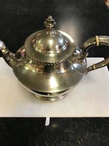 Sterling By Poole Tea Pot Georgian Pattern