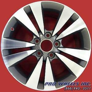 Honda Accord 2008 2014 17 Machined Gray Factory Original Oem Wheel Rim 63938