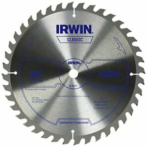Irwin Classic Carbide Table miter Circular Saw Blade 10 inch 40t 15270