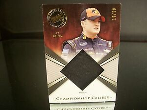 Ty Dillon Press Pass Championship Caliber 2014 Card #CCM TD Race Used Firesuit $8.99