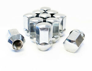 5 9 16 Dodge Ram Oem Stock Replacement Lug Nuts Chrome 7 8 Hex 2002 10 Wheel
