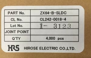 Factory Box Of 12 000 Zx64 b sldc Plug Style Connectors Micro B Shell cover