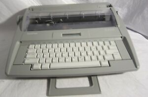 Brother Sx 4000 Portable Electric Typewriter Daisy Wheel Needs Correction Tape