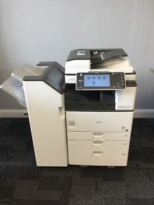 Ricoh Mp3053 Black And White Multifunction Copier Printer Color Scanner