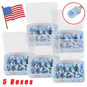 500 Pcs Dental Rubber Prophy Angle Cup Tooth Polish Cups Brush Latch Type Solid