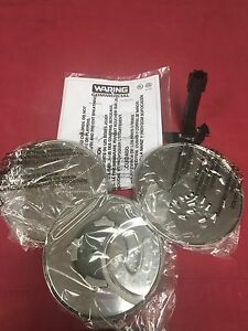 Waring Commercial 3 5qt Food Processor Discs