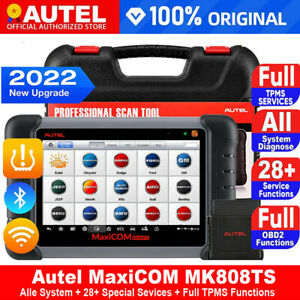 Autel Maxicom Mk808ts Bluetooth Tpms Sas Obd2 Car Diagnostic Scanner Tool Ts601